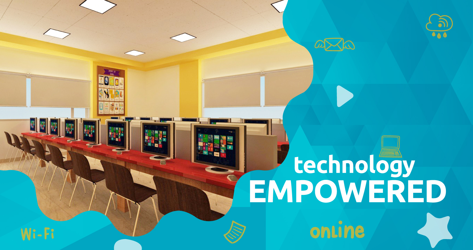 technology interface for pre school